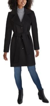 Jones New York Petite Belted Walker Coat