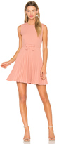 RED Valentino Sleeveless Pleated Mini Dress
