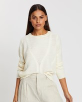 Only Jemma LS Cable Pullover Knit