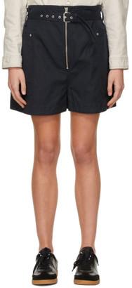 Etoile Isabel Marant Navy Parana Shorts