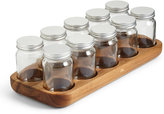 Marks and Spencer Acacia 10 Bottle Spice Rack