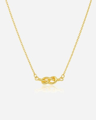 Express Sterling Forever Infinity Love Knot Necklace