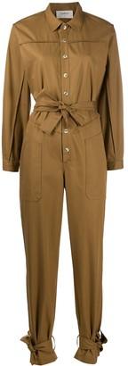 BA&SH Chris belted jumpsuit