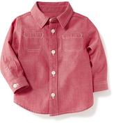 Old Navy Red-Chambray Shirt for Baby