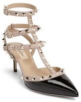Valentino Garavani Women's Rockstud Pointy Toe Pump