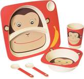 Safety 1st 49830CMKY1PK Bamboo 5 piece Feeding Set - Monkey