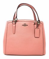 Coach Crossgrain Leather Minetta Handbag in SV/B5