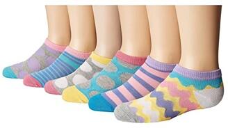 Jefferies Socks Dots/Stripes Low Cut 6-Pack (Toddler/Little Kid/Big Kid) (Multi) Girls Shoes
