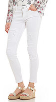 True Religion Halle Cropped Super Skinny Jeans