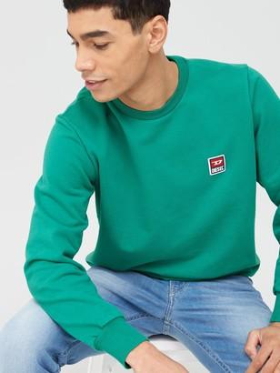 Diesel Gir Small Chest Logo Sweatshirt - Green
