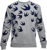 McQ by Alexander McQueen Grey Cotton Sweater
