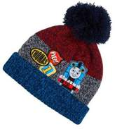 Character Thomas & Friends Badge Detail Knitted Bobble Hat, Kids Unisex
