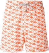 Love Brand turtle print swim shorts