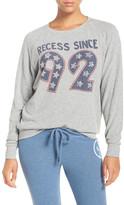 Junk Food Clothing &Recess Since 92& Hacci Sweatshirt