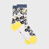 Paul Smith Women's Aran Semi-Sheer 'Ailis Floral' Socks
