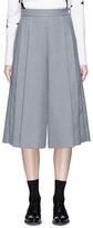 Thom Browne Pleated twill culottes
