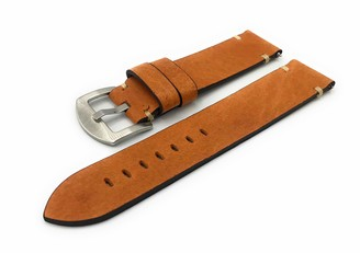 F FERRER Mens Leather Watch Strap CIE20-RSPCC