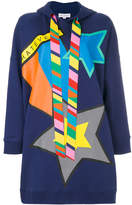Mira Mikati star sweatdress