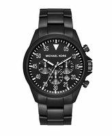 MICHAEL Michael Kors 45mm Gage Stainless Watch, Black