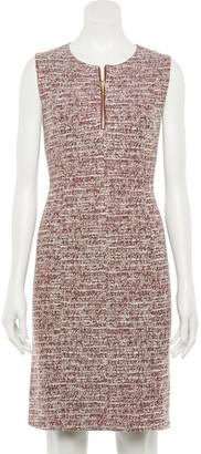 Apt. 9 Women's Zip Front Sleeveless Sheath Dress