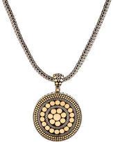 John Hardy Two-Tone Dot Pendant Necklace