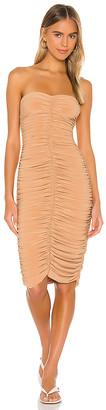 Norma Kamali Slinky To Knee Dress