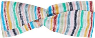 Missoni Mare Rainbow Turban Headband
