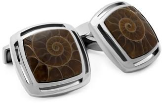 Tateossian Masgascan Ammonite Cufflinks