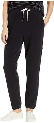 Volcom Lil Fleece Pants (Black) Women's Casual Pants