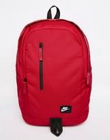 Nike All Access Fullfare Backpack In Red Ba4857-620