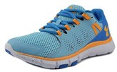Under Armour Micro G Limitless Tr Round Toe Leather Running Shoe.