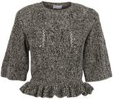 RED Valentino Frill Trim Sweater