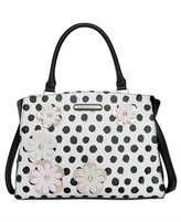 Betsey Johnson Floral Satchel, Only At Macy's