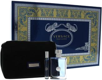 Versace Men's 3Pc Pour Homme Fragrance Set