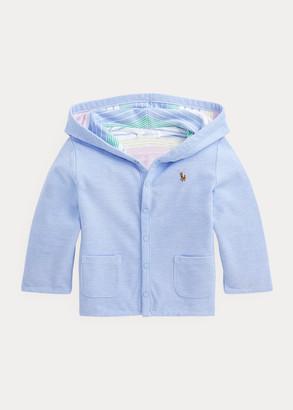 Ralph Lauren Reversible Mesh Hooded Jacket