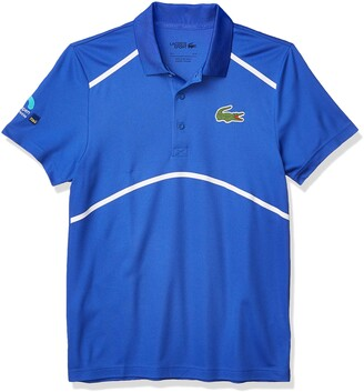 Lacoste Men's Sport Miami Open Ultra Dry Graphic Polo Shirt