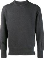 Uniform Experiment - distressed jumper - men - Cotton - 1