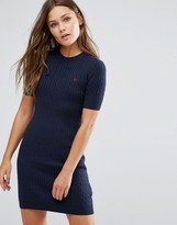 Jack Wills Knowlden Cable Knitted Dress