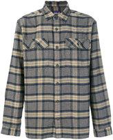 Patagonia plaid shirt
