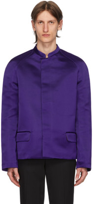 Haider Ackermann Purple Taroni Jacket