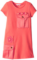 Little Marc Jacobs Milano Dress with Cabochons (Toddler/Little Kids)