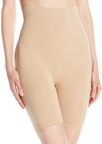 Taupe High-Waist Long Firm Compression Shaper Brief - Plus Too