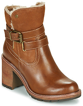 Refresh 72608 women's Low Ankle Boots in Brown