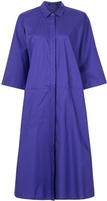 Sofie D'hoore Dive wide-sleeve shirt dress
