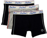 Lucky Brand Grey Label Stretch Boxer Brief - Pack of 3