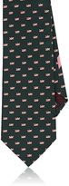 Salvatore Ferragamo Men's Dragonfly-Print Silk Necktie
