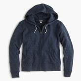 J.Crew Brushed fleece zip hoodie