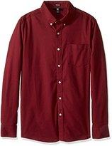 Volcom Men's Oxford Stretch Long Sleeve Shirt
