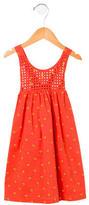 Stella McCartney Grils' Floral Print Sleeveless Dress