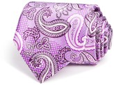 Canali Paisley Print Classic Tie